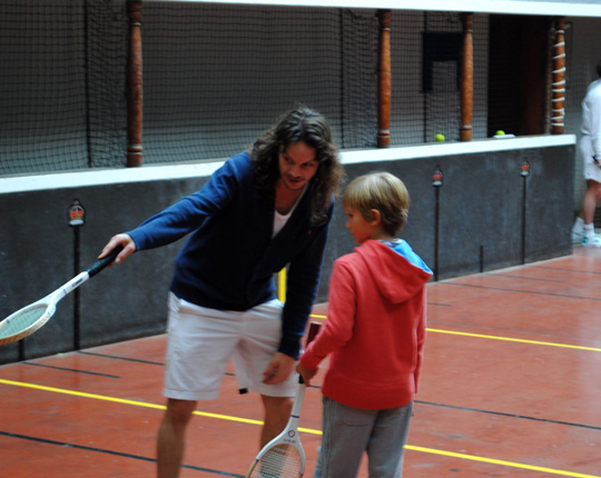 Real Tennis Tour and Field Trip